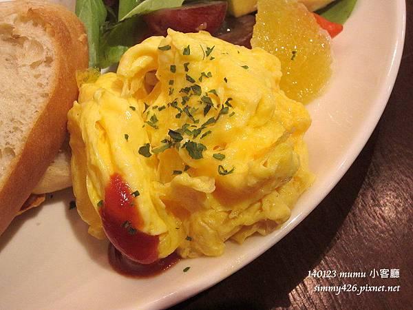 小客廳早午餐 白酒奶油燴雞(2)