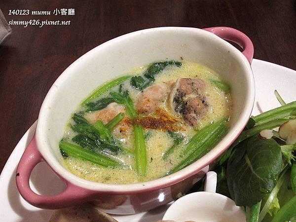 小客廳早午餐 白酒奶油燴雞(3)