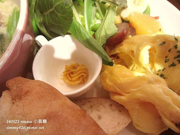 小客廳早午餐 白酒奶油燴雞(4)