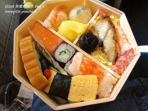 八角壽司便當(3)