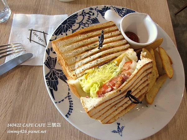 芥末籽櫻桃鴨三明治(1)