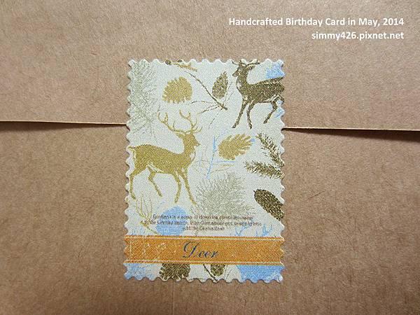 140518 Ariel 的生日卡‧信封(2)