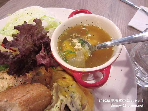 141028 蝦沙拉法國麵包歐姆蛋(4).jpg