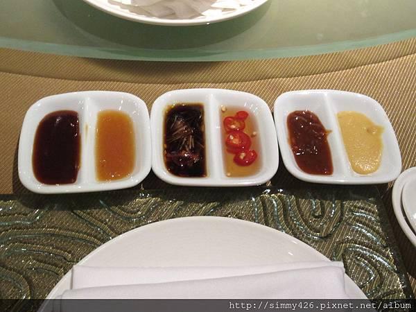 沾醬 (六種)