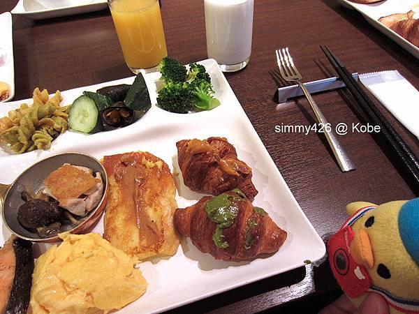 Hotel Piena Kobe 早餐(12).jpg