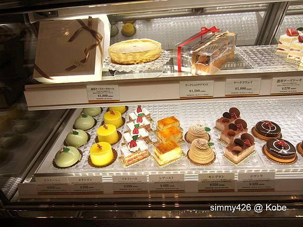 Hotel Piena Kobe 蛋糕櫃(2).jpg