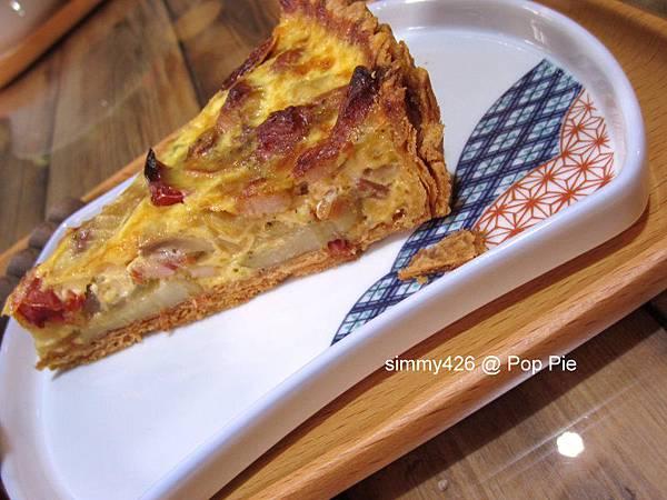 Pop Pie -- 培根蘿勒佐油漬番茄鹹派(2).jpg
