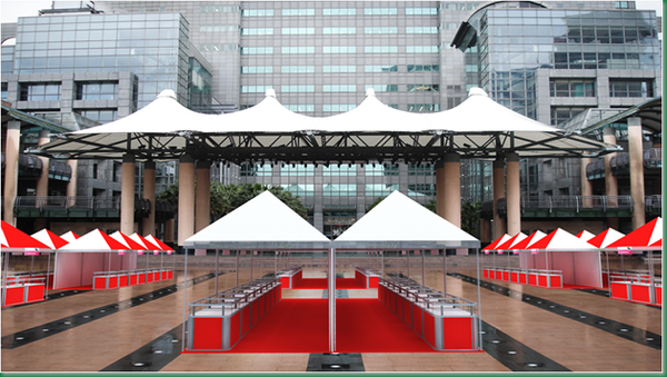 台北縣政府前廣場模擬圖