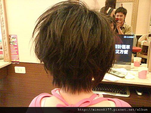 短髮層次剪裁