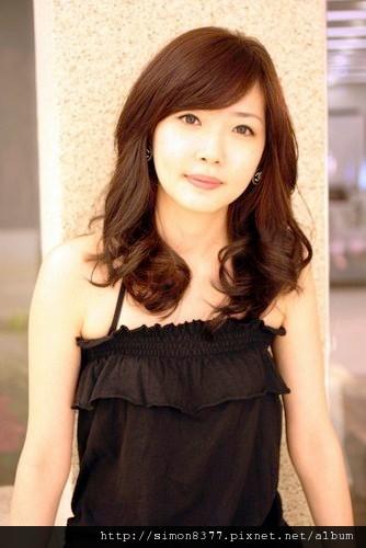 【水質感燙_春夏造型】中長髮 J型燙 梨花頭