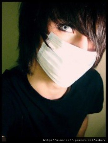 Emo男性(髮型5)