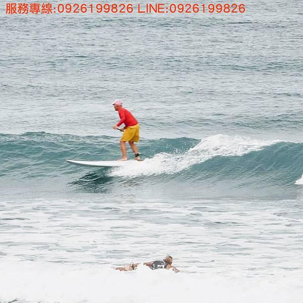 立式單槳衝浪SUP教學 服務專線:0926199826 LINE:0926199826