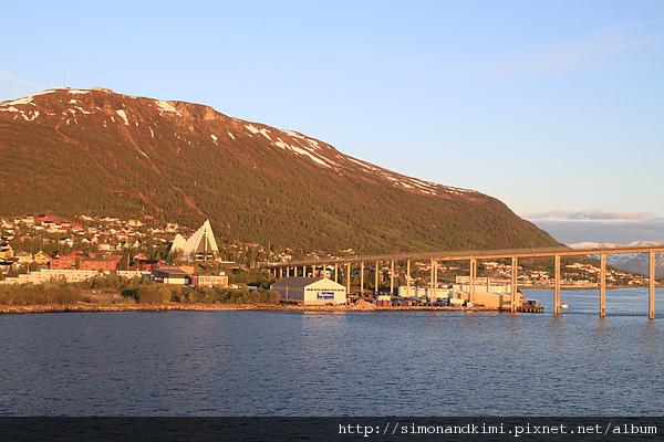 北極圈內 Tromso 午夜
