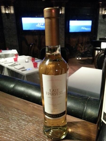 2008 Late Harvest Sauvignon Blanc