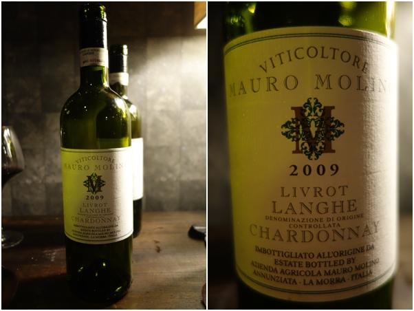 2009 Mauro Molino Langhe Chardonnay Livrot
