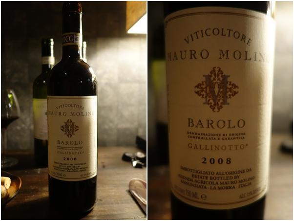 2008 Mauro Molino Barolo Galinotto DOCG