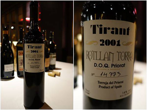 2001 Rotllan Torra Tirant D.O.Q. Priorat