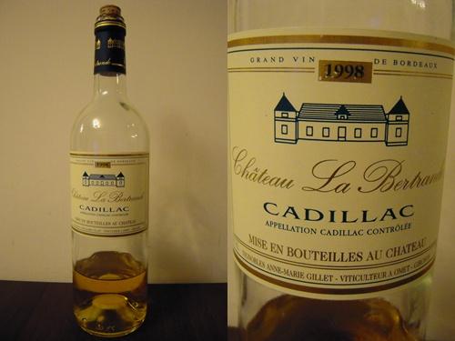 1998 Chateau La Bertrande , Cadillac.jpg