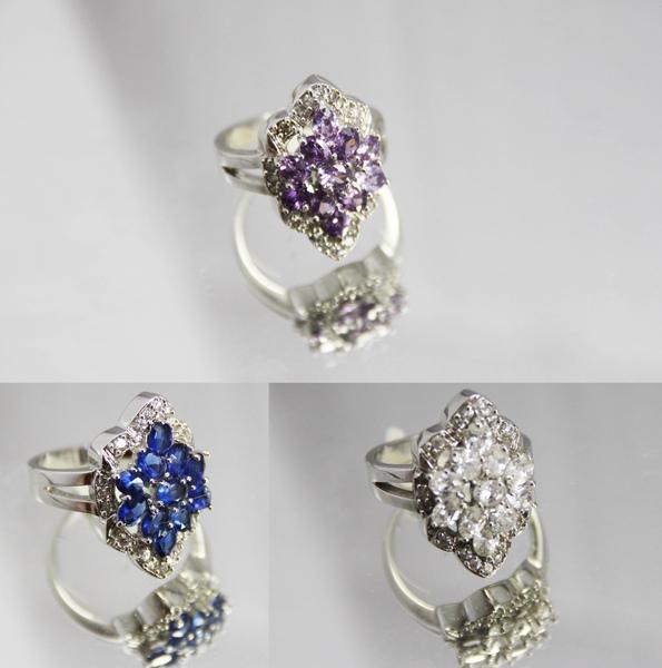 白K金 彩鑽 戒指 經典盾牌造型2.jpg