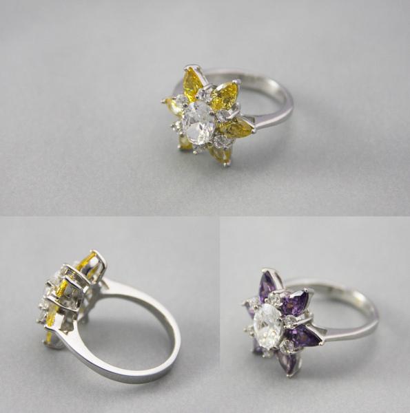 白K金 彩鑽戒指 美麗花瓣1.jpg
