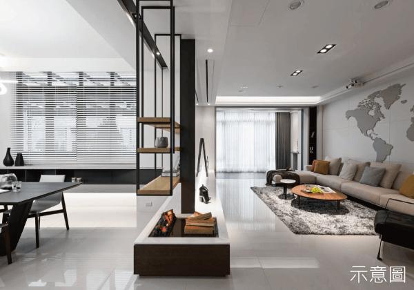 居家裝潢, 簡約居家風, 簡約風, 裝潢