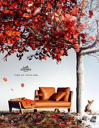 愛馬仕 AW12 家具單頁廣告