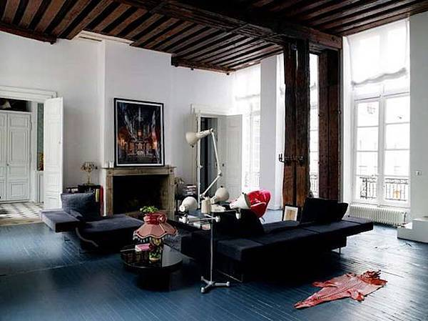 Vintage-Glam-in-an-Eclectic-Paris-Loft-3