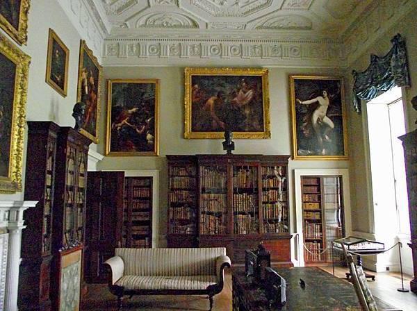 凱德萊廳(Kedleston Hall)的圖書室