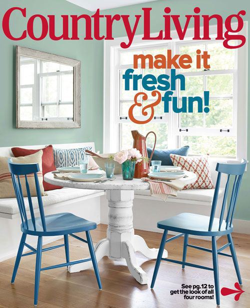 country-living-teal-blue-breakfast-nook