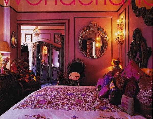 富饒神秘與想像的臥房