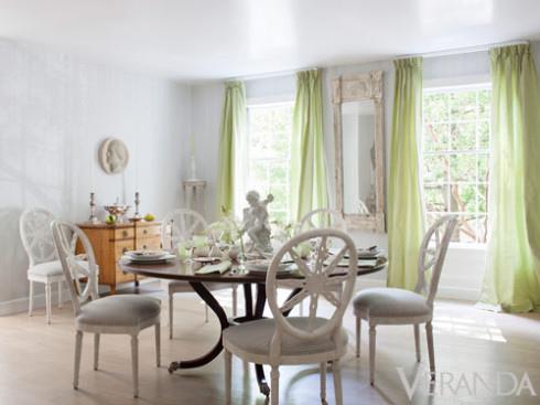 Veranda 美式風格 中西合併 綠色調