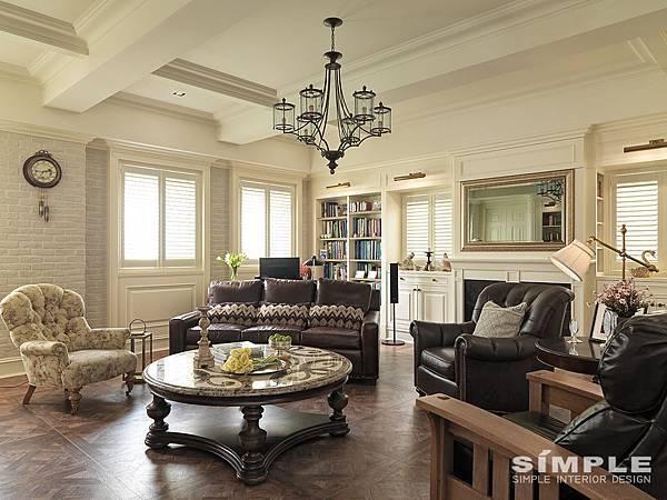尚展設計 美式風格 美式古典 居家設計 室內設計