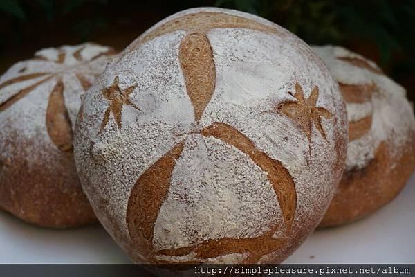 紅酒核桃麵包10
