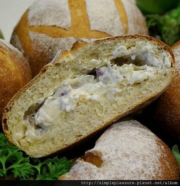 洋蔥火腿乳酪麵包3