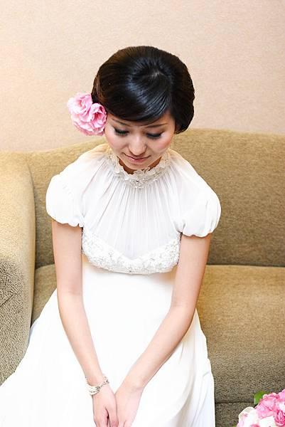 搭配白紗看起來很典雅.JPG
