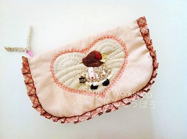 蘇姑娘粉紅化妝包1a