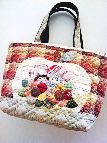 甜蜜蘋果屋手挽袋1
