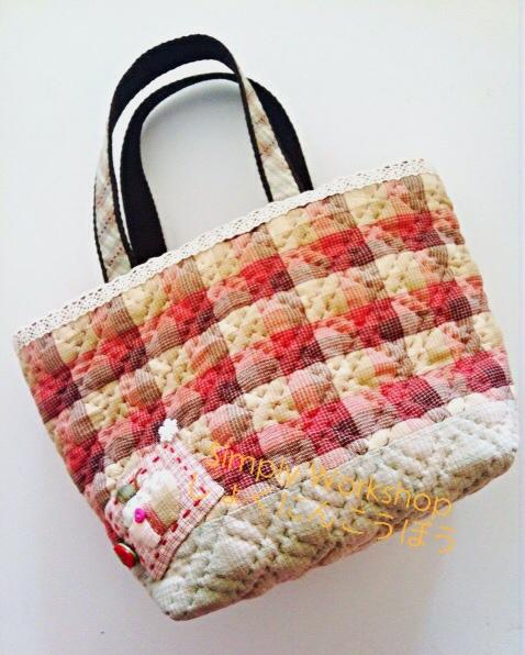甜蜜蘋果屋手挽袋2