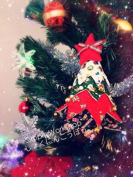 拼布聖誕樹1