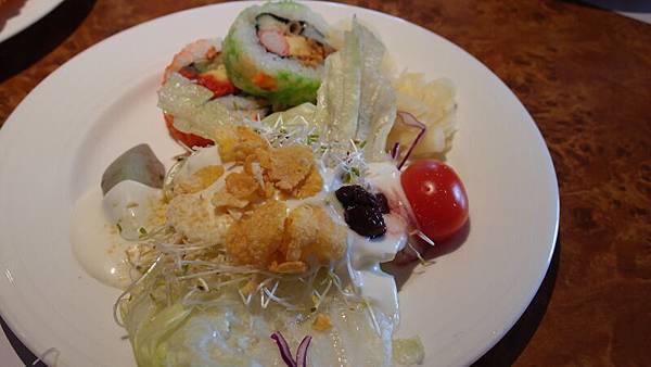 壽司&生菜沙拉