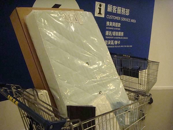 IKEA床組