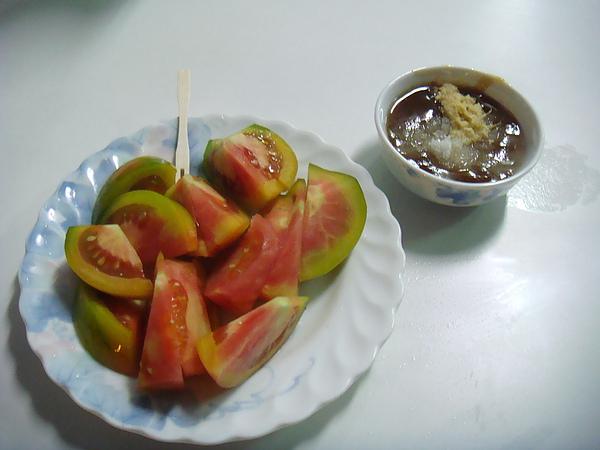 莉莉水果店~蕃茄水果切盤