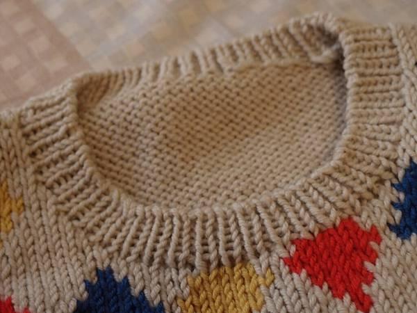 2011毛線編織作品~小小廖的背心
