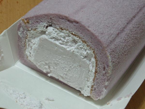日式芋頭奶凍~側面