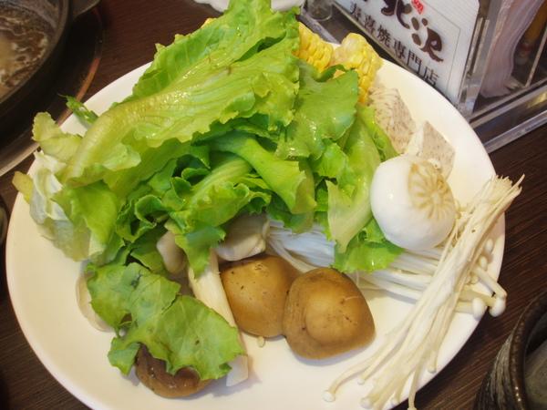 09年吃小北沢~菜盤
