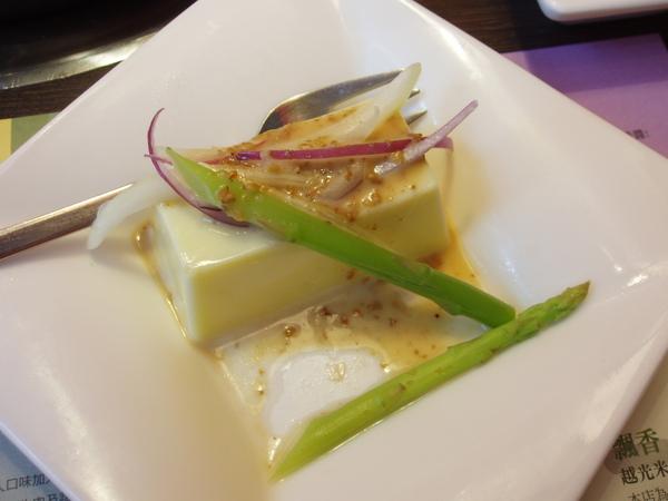 09年吃小北沢~前菜:芝麻豆腐沙拉