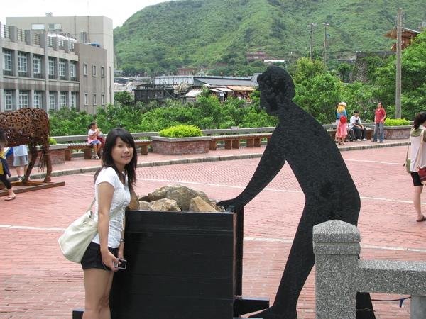 黃金博物館園區~大門口