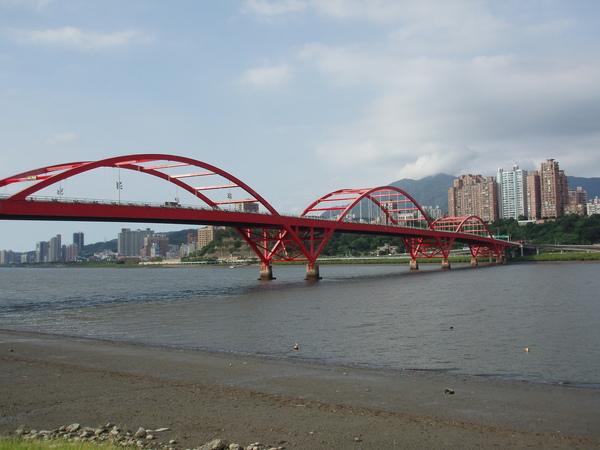 八里左岸自行車步道~關渡大橋