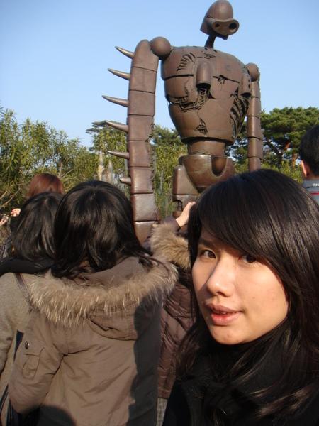 吉卜力~天空之城的機器人