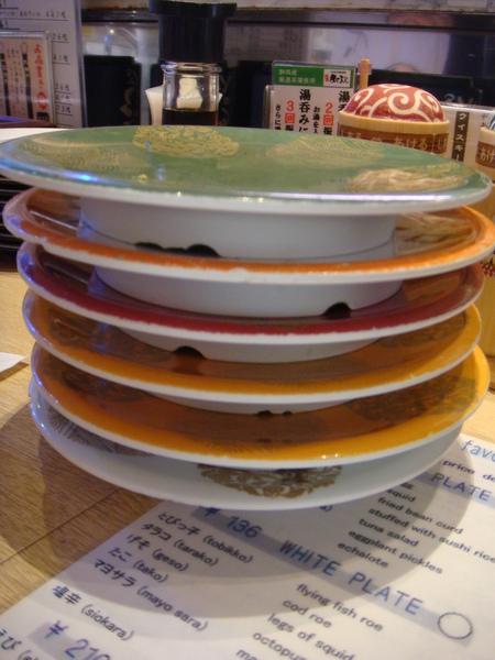 午餐~迴轉壽司